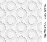 seamless circle pattern. vector ...   Shutterstock .eps vector #263242196
