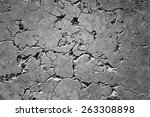 cracked stone wall background | Shutterstock . vector #263308898