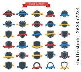 badge banner | Shutterstock .eps vector #263352284