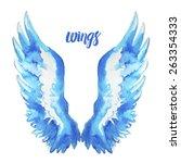 wings   Shutterstock .eps vector #263354333