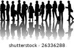 vector silhouette graphic... | Shutterstock .eps vector #26336288
