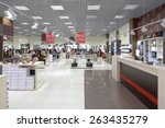 bright and fashionable interior ... | Shutterstock . vector #263435279