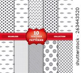 repeatable patterns and... | Shutterstock .eps vector #263443520