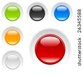 vector buttons | Shutterstock .eps vector #26345588