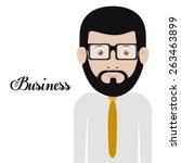 businesspeople design over... | Shutterstock .eps vector #263463899