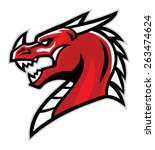 Dragon Head Mascot