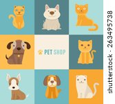 Vector Pet Shop Logo Design...