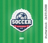 Soccer Championship Logo