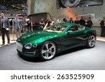 Geneva  March 3  Bentley Exp 1...
