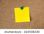 Yellow Reminder Sticky Note On...