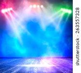 background in show. vector... | Shutterstock .eps vector #263557328
