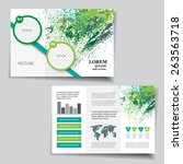brochure design | Shutterstock .eps vector #263563718