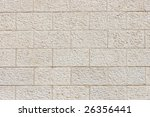 Vertical Wall Built Of Grey...