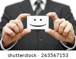 our clients are happy clients ... | Shutterstock . vector #263567153