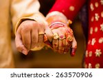 beautifully decorated indian... | Shutterstock . vector #263570906