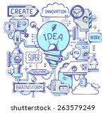 vector illustration of... | Shutterstock .eps vector #263579249