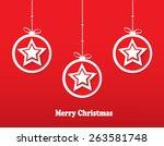 red christmas stars. christmas...