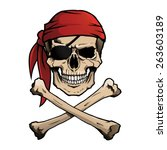 Pirate Skull And Crossbones ...