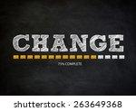 change   Shutterstock . vector #263649368