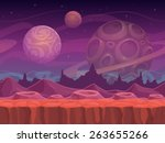 alien fantastic landscape ...