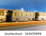 abandoned transport metropolis  ... | Shutterstock . vector #263659898