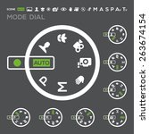 Icon Camera Mode Dial Set  Aut...