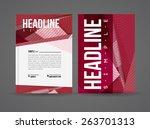 vector illustration with... | Shutterstock .eps vector #263701313