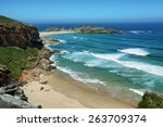 Idyllic Beach In Robberg Natur...