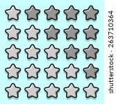 stone game rating stars icons...