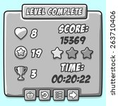 game stone level complete icons ...