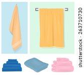 towel | Shutterstock .eps vector #263710730