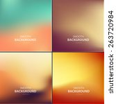 abstract colorful vector... | Shutterstock .eps vector #263720984
