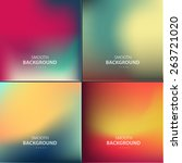 abstract colorful vector... | Shutterstock .eps vector #263721020