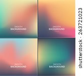 abstract colorful vector... | Shutterstock .eps vector #263721023