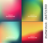abstract colorful vector... | Shutterstock .eps vector #263721503