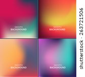 abstract colorful vector... | Shutterstock .eps vector #263721506