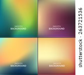 abstract colorful vector... | Shutterstock .eps vector #263721536