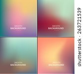 abstract colorful vector... | Shutterstock .eps vector #263721539