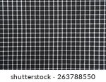 Black And White Gingham Cloth...