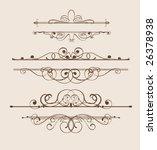 design elements | Shutterstock .eps vector #26378938