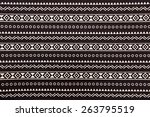 pattern on fabric texture for... | Shutterstock . vector #263795519