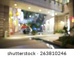 abstract background of shopping ... | Shutterstock . vector #263810246