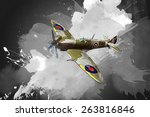 Render Of A Ww2 Airplane 3d...
