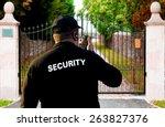 security guard | Shutterstock . vector #263827376