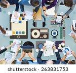 identity trademark copyright... | Shutterstock . vector #263831753