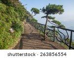 scenery of sanqingshan... | Shutterstock . vector #263856554
