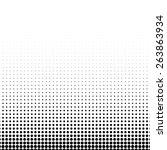 vector classic halftone...   Shutterstock .eps vector #263863934