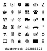 office and business icons   Shutterstock .eps vector #263888528