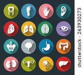 Set Of Vector Medical Icons...