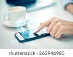 business  technology ... | Shutterstock . vector #263946980